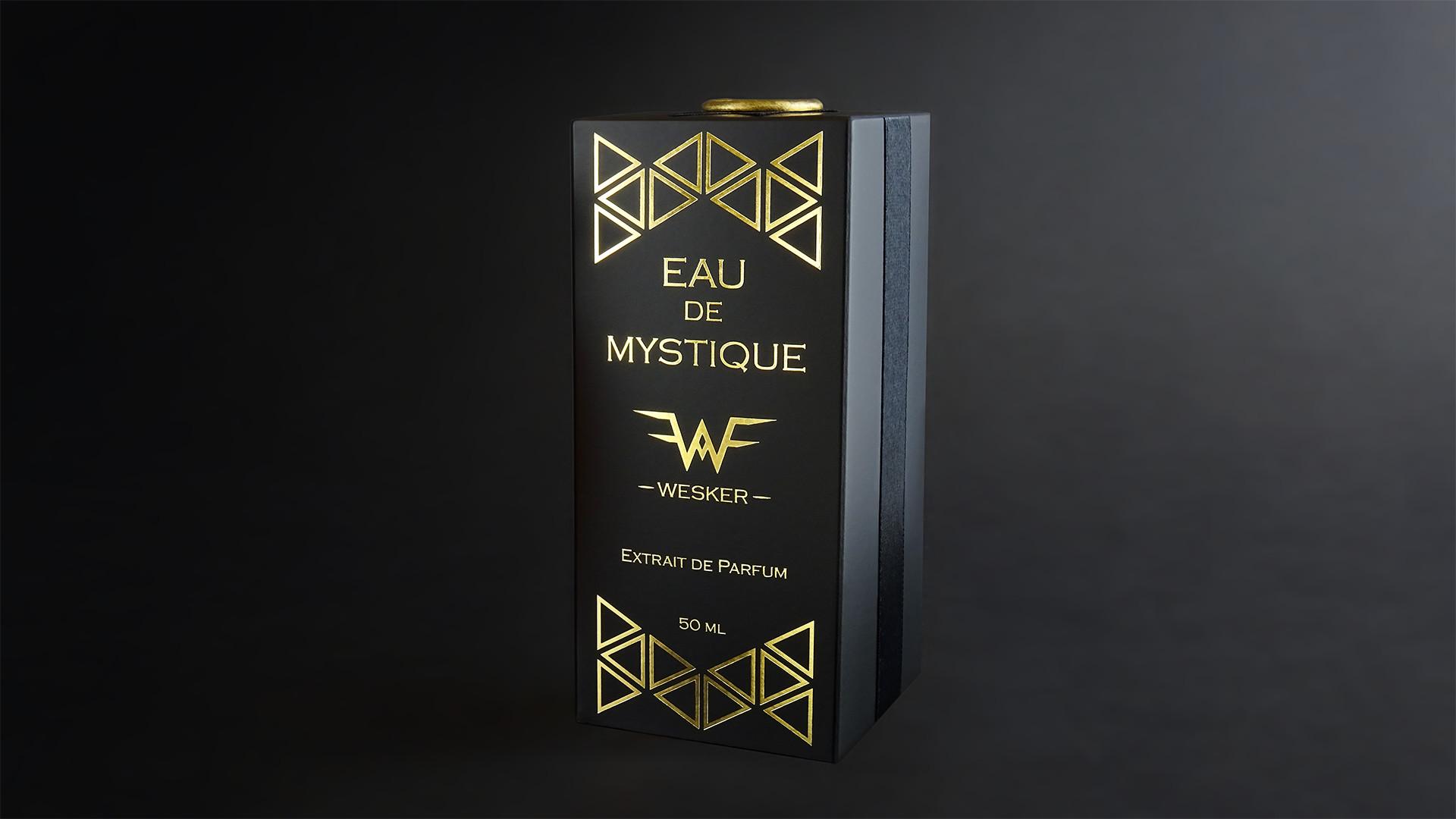 Wesker Eau de Mystique Extrait de Parfum Package